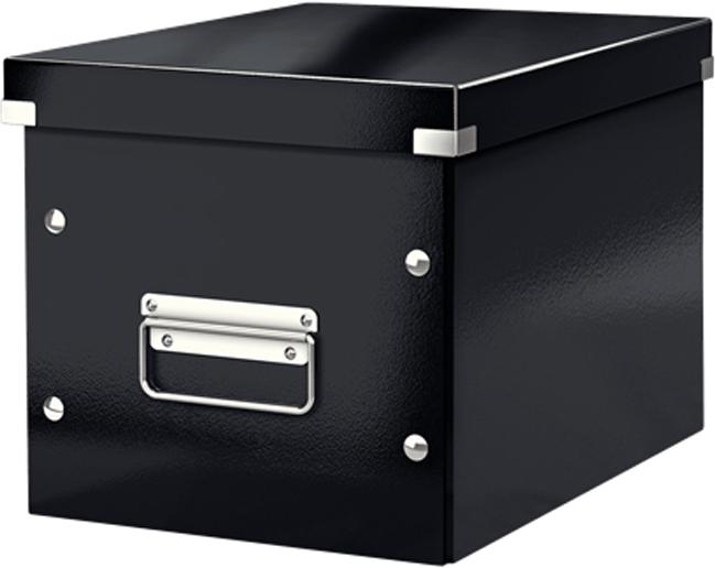 Leitz Короб архивный Click-n-Store размер М цвет черный бокс для хранения вещей ikea ikea