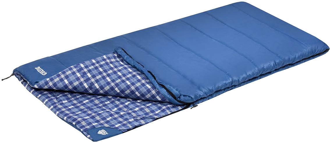 Спальный мешок Celtic, цвет: синий, правосторонняя молния