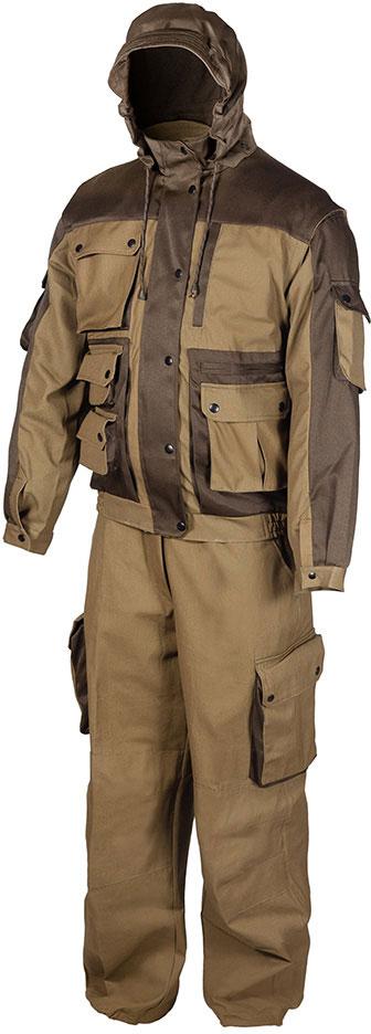 Костюм рыболовный HUNTSMAN костюм рыболовный мужской huntsman никс люкс куртка полукомбинезон цвет хамелеон n 100 lux 032 размер 60 62 рост 188