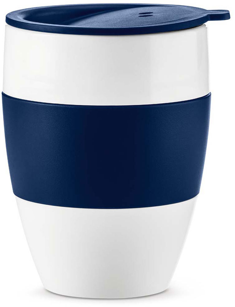 Термокружка Koziol Aroma To Go 2.0, цвет: синий, 400 мл