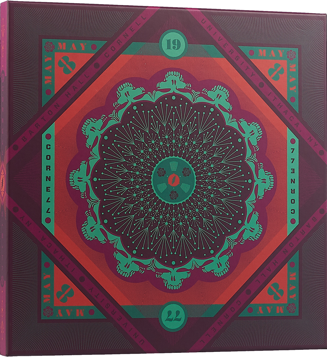 """The Grateful Dead"" Grateful Dead. Cornell 5/08/77 (5 LP)"