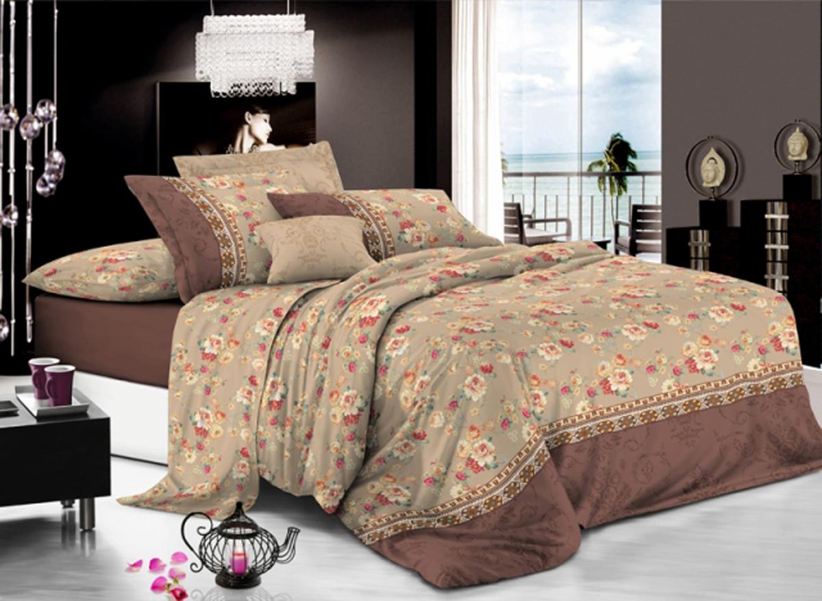 Комплект белья Soft Line, 2-спальный, наволочки 50x70. 6161 комплект белья soft line 2 спальный наволочки 50x70 06145