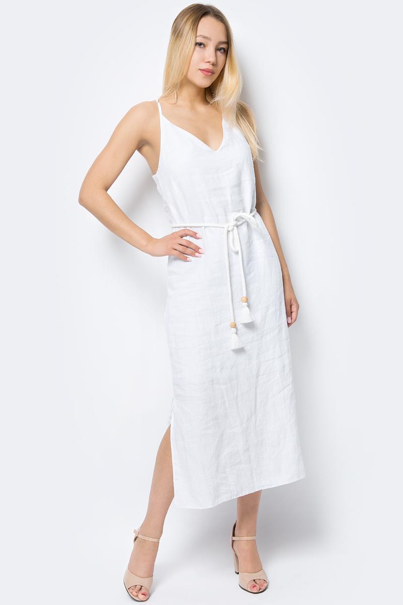 Платье adL летнее платье с v образным вырезом galliano