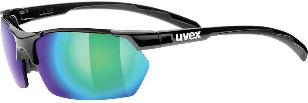 Велосипедные очки Uvex Sportstyle 114, цвет: черный