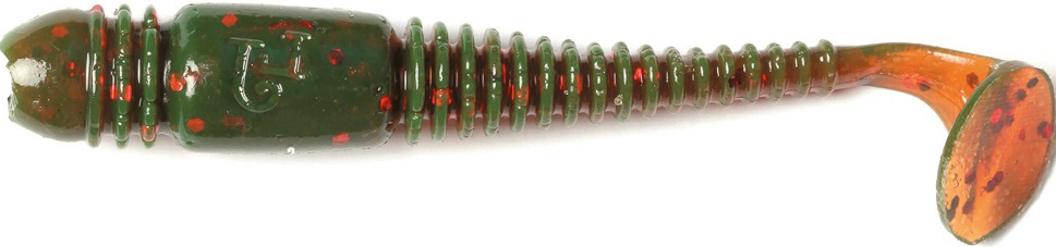 Виброхвост LJ Pro Series Tioga 2.9in, длина 74 мм, 7 шт. 140103-085