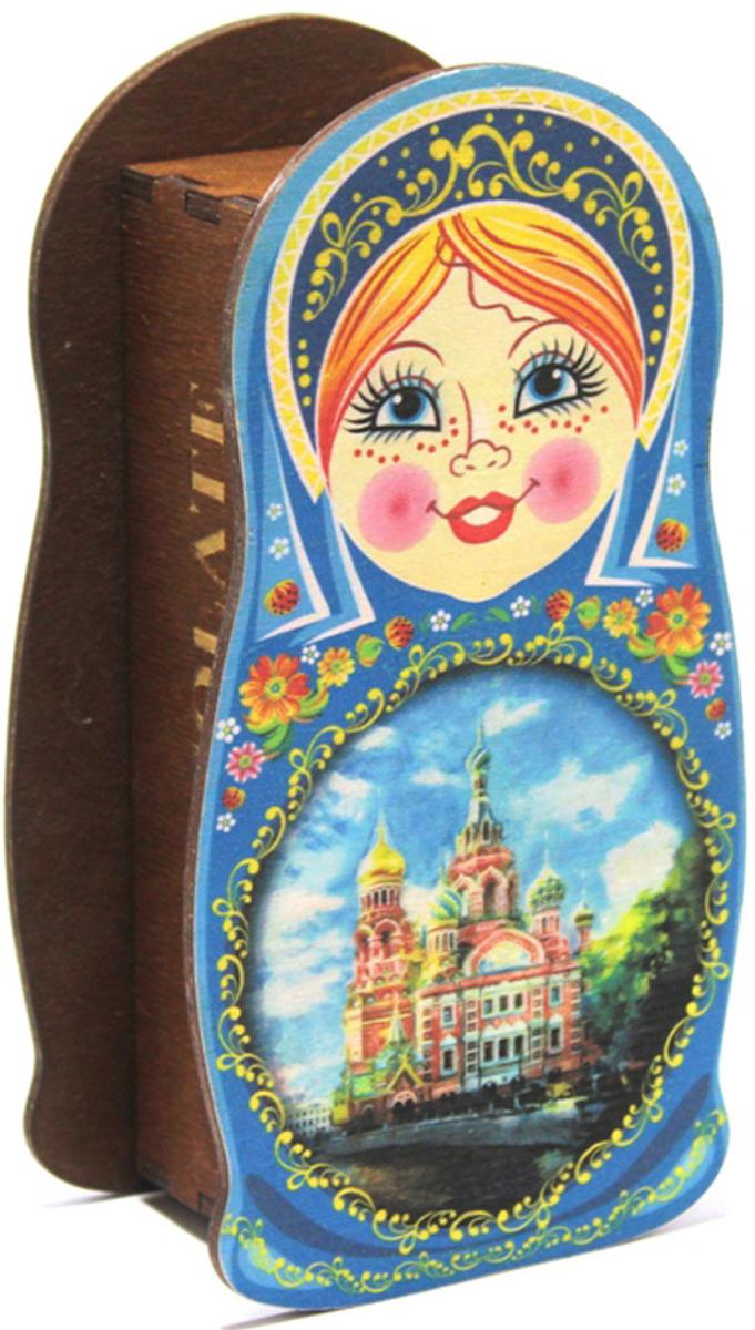 Подарочная упаковка Пересвет МСИН700112, синий