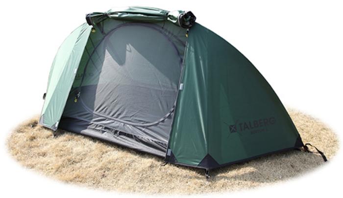 Палатка Talberg Burton 1, цвет: зеленый