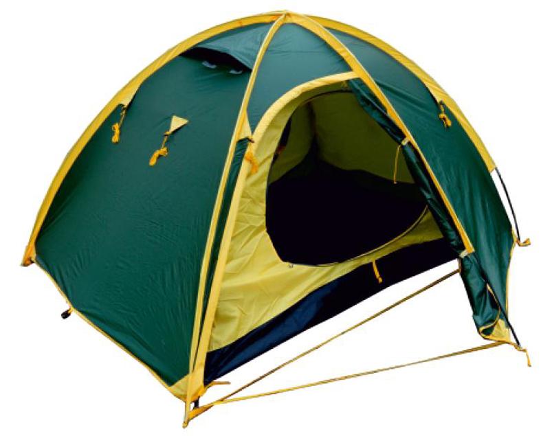 Палатка Talberg Space 3, цвет: зеленый тент туристический talberg цвет зеленый 4 м х 4 м