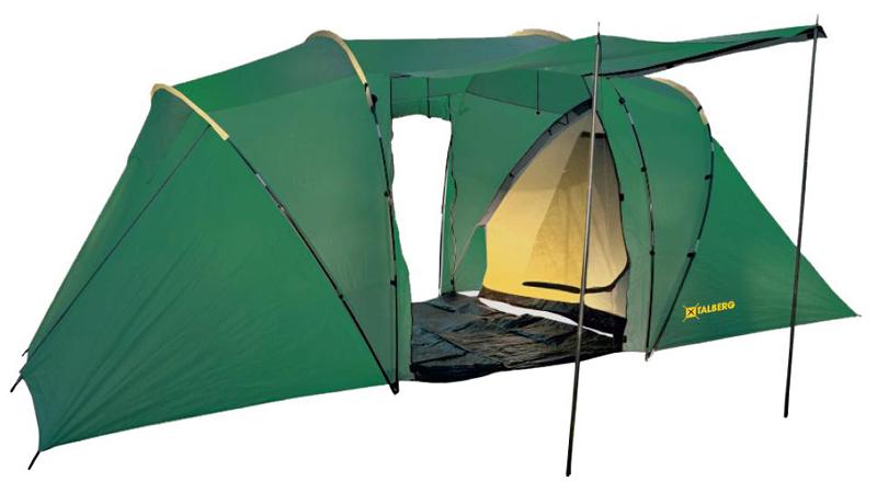 Палатка Talberg Taurus 4 тент туристический talberg цвет зеленый 4 м х 4 м