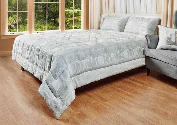 """Одеяло Primavelle """"Lino"""", 172 х 205 см, светло-серый"""