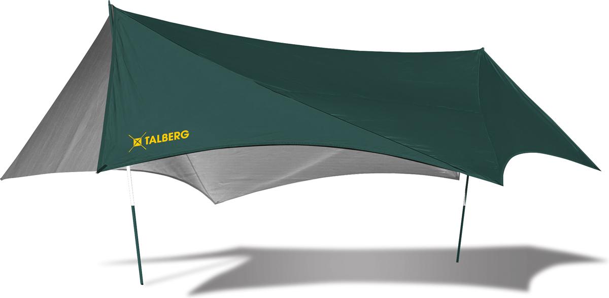 Тент Talberg Batwing 5Х5, цвет: зеленый