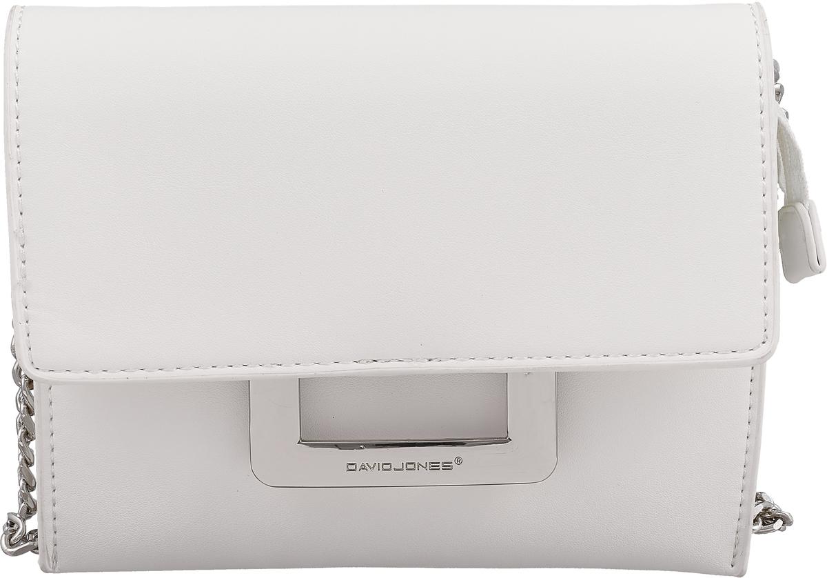 Сумка женская David Jones, цвет: белый. CM3841 WHITE сумка женская david jones цвет розовый cm3538a d pink