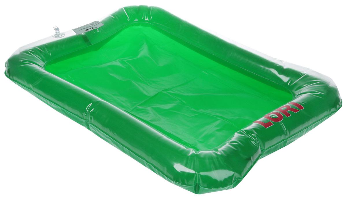 цены на Lori Песочница надувная цвет зеленый Нп-001  в интернет-магазинах