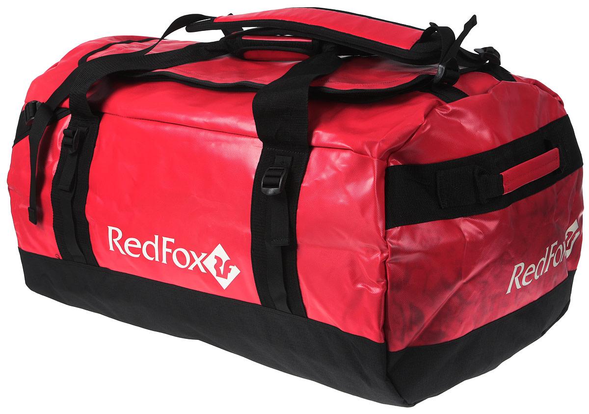 Баул Red Fox Expedition Duffel Bag, цвет: красный, 120 л