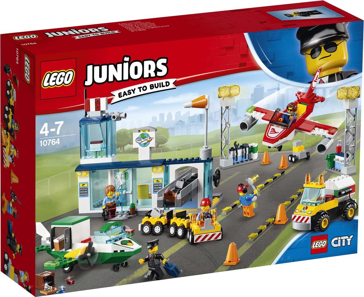 LEGO Juniors 10764 Городской аэропорт Конструктор заказать авиабилеты цены
