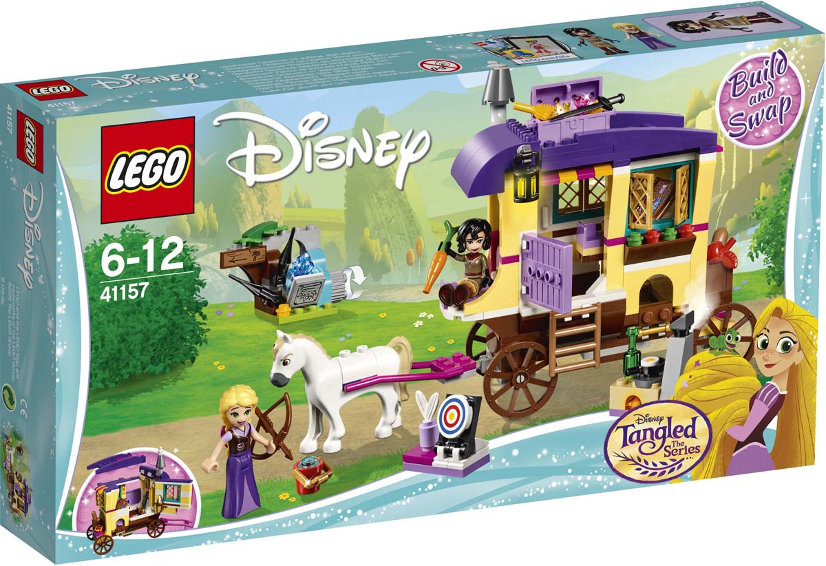 LEGO Disney Princess 41157 Экипаж Рапунцель Конструктор конструктор lego disney princess башенка рапунцель 44 дет 41163