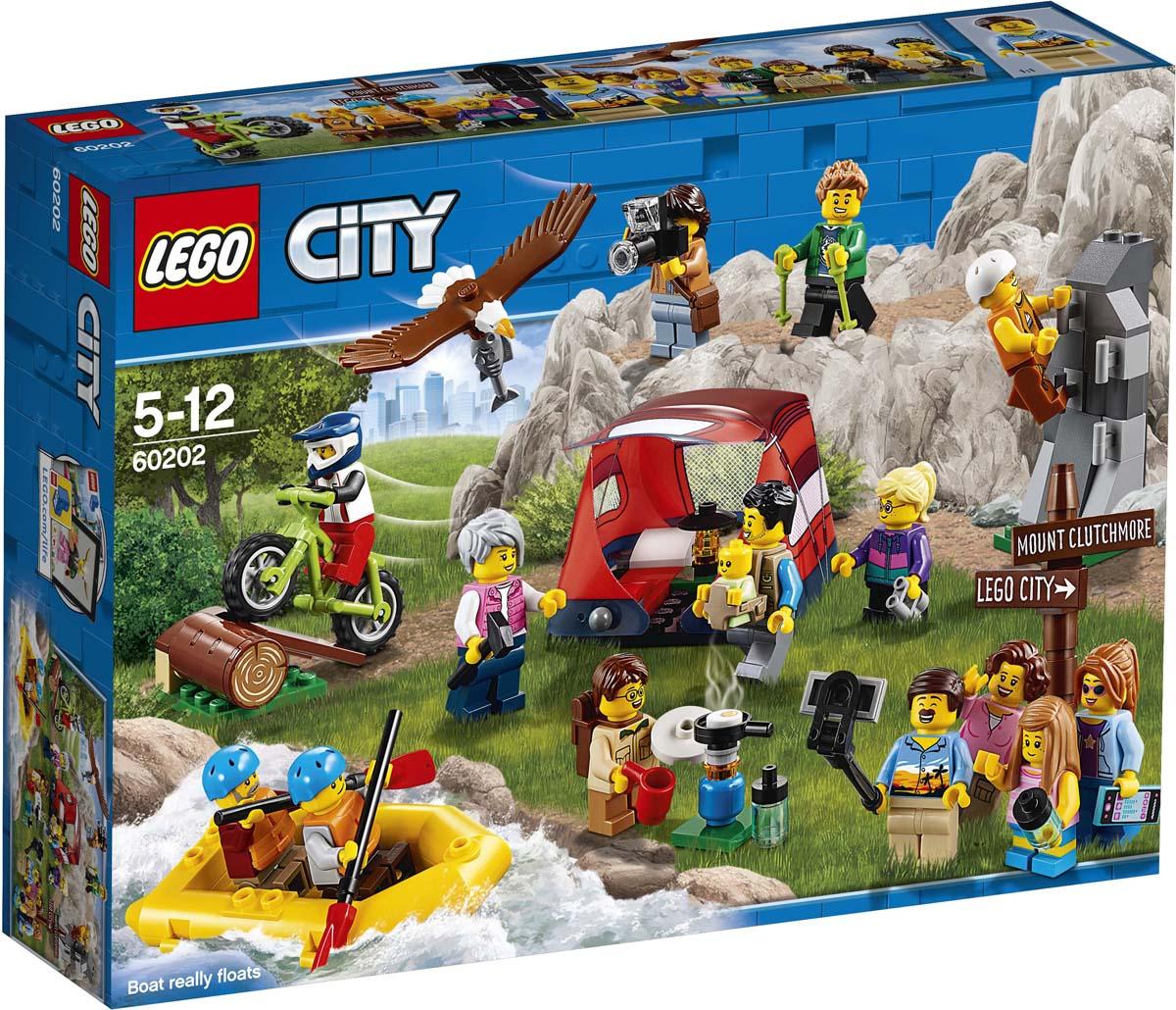 LEGO City Town 60202 Любители активного отдыха Конструктор конструктор lego любители активного отдыха 60202