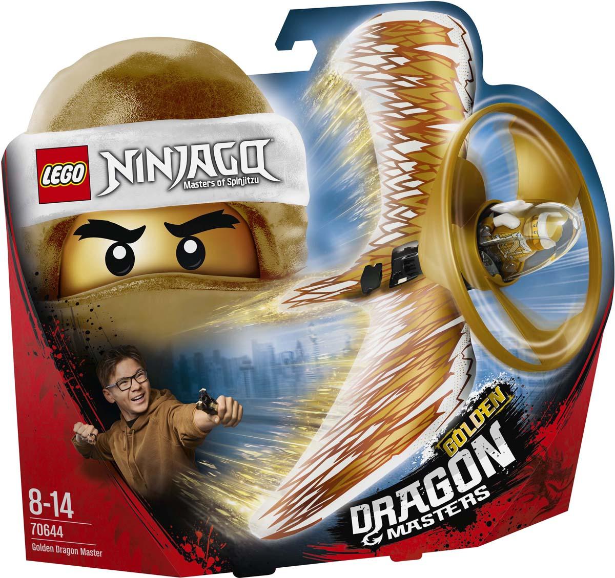 LEGO NINJAGO 70644 Мастер Золотого дракона Конструктор lego ninjago 70644 конструктор лего ниндзяго хозяин золотого дракона