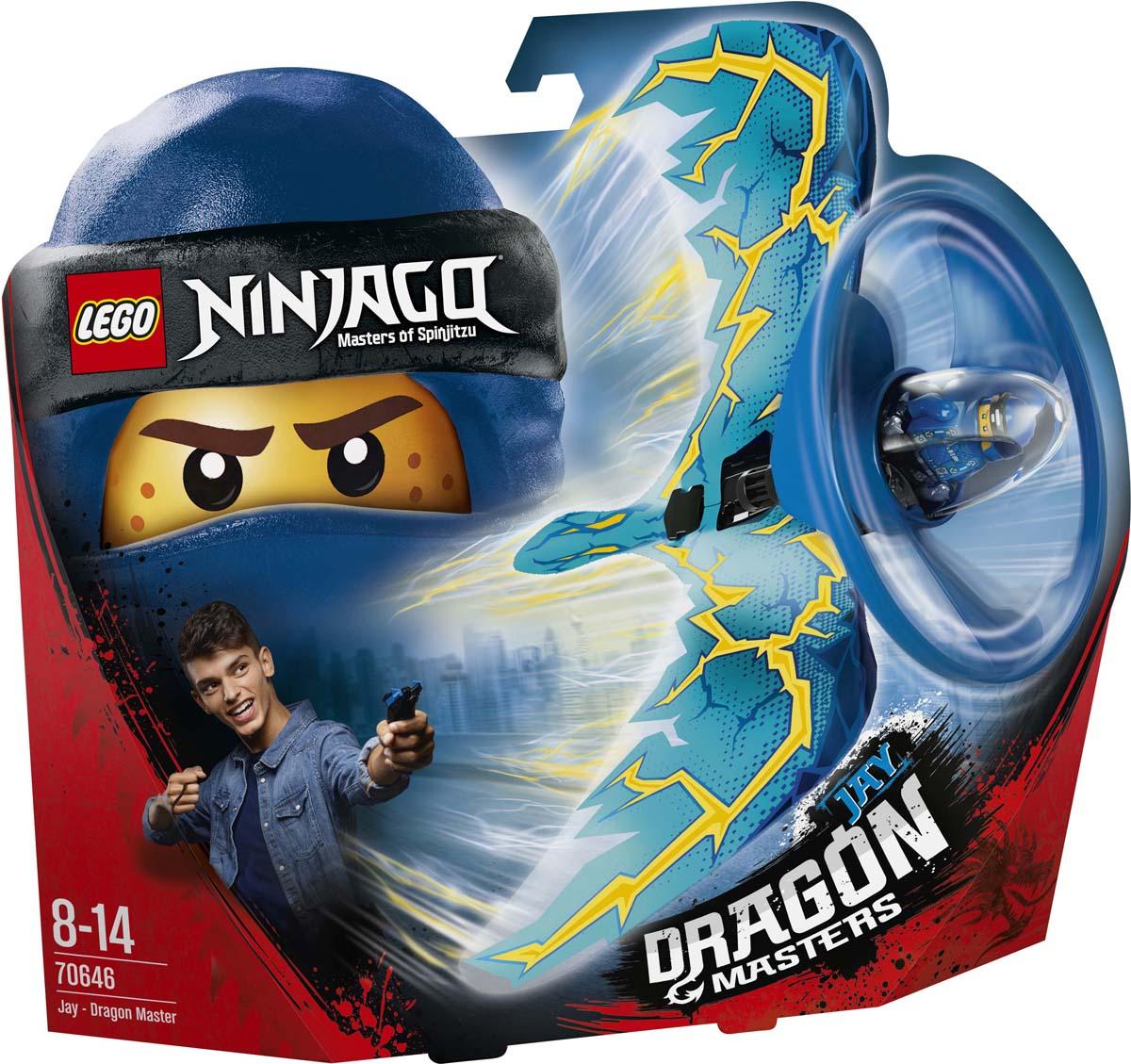 LEGO NINJAGO 70646 Джей - Мастер дракона Конструктор