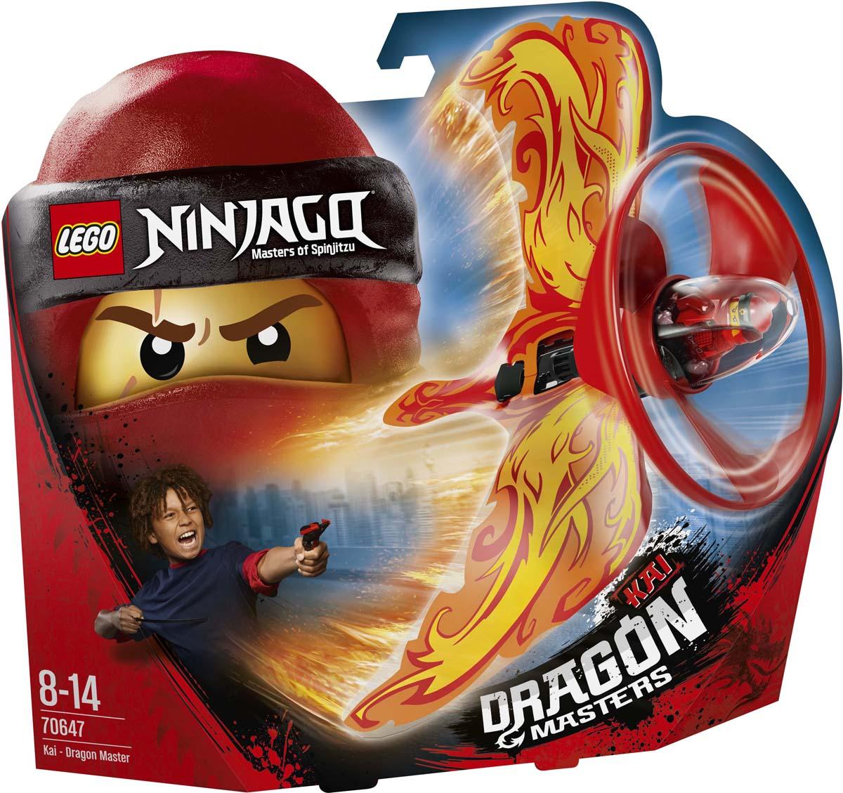 LEGO NINJAGO 70647 Кай - Мастер дракона Конструктор