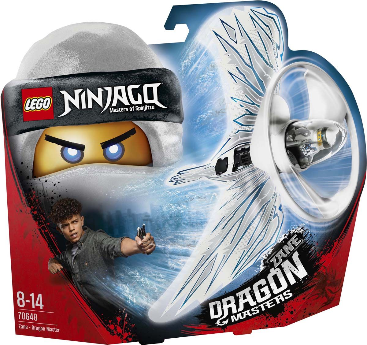 LEGO NINJAGO 70648 Зейн - Мастер дракона Конструктор