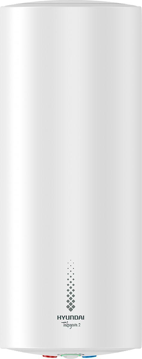 Водонагреватель накопительный электрический Hyundai Takagava 2 H-SWS1-50V-UI707, 50 л, белый водонагреватель накопительный hyundai hyundai takagava 2 h sws1 50v ui707 1500 вт 50 л
