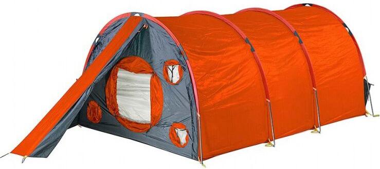 Палатка Red Fox Fox Cave 6, 6-местная, цвет: оранжевый