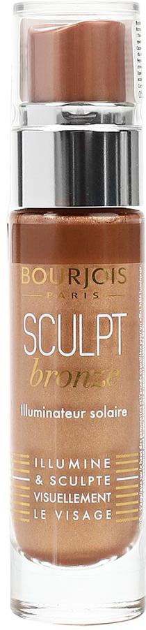 Bourjois Хайлайтер для лица Sculpt Highlighter тон bronze sunkissed загорелый, 15 мл bourjois для лица air mat found de teint тон 01 ivoire rose