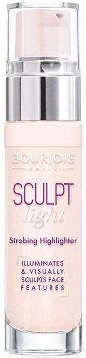 Bourjois Хайлайтер для лица Sculpt Highlighter тон light strobing светлый, 15 мл bourjois для лица air mat found de teint тон 01 ivoire rose