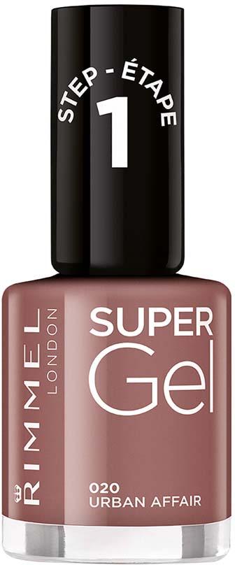 Гель-лак для ногтей Rimmel Super Gel, тон 020, 8 мл гель лак для ногтей rimmel super gel тон 050 8 мл