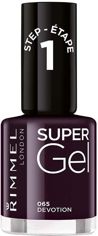Гель-лак для ногтей Rimmel Super Gel, тон 065, 8 мл гель лак для ногтей rimmel super gel тон 050 8 мл