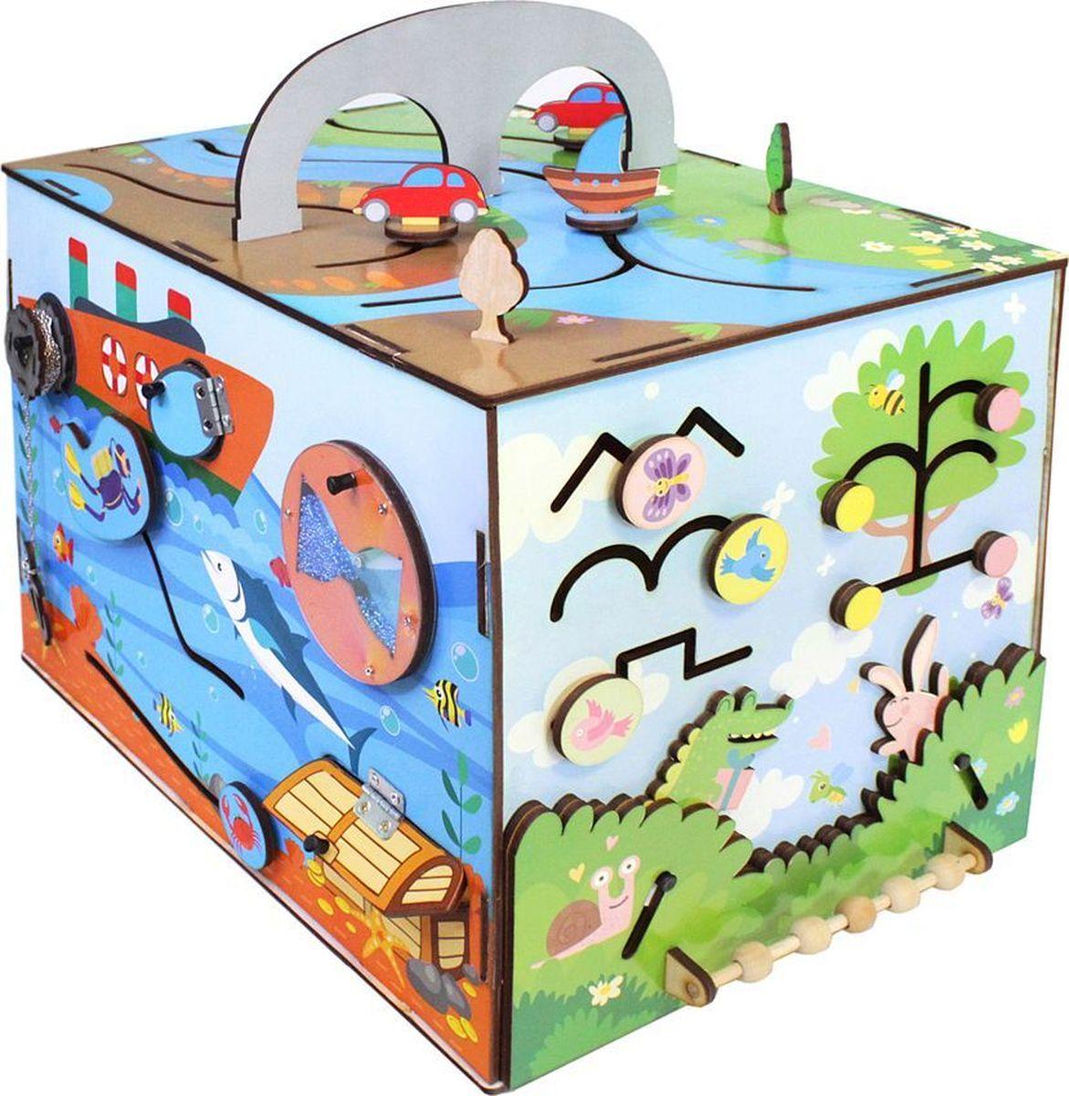 купить Фабрика Мастер игрушек Бизиборд Вокруг света недорого