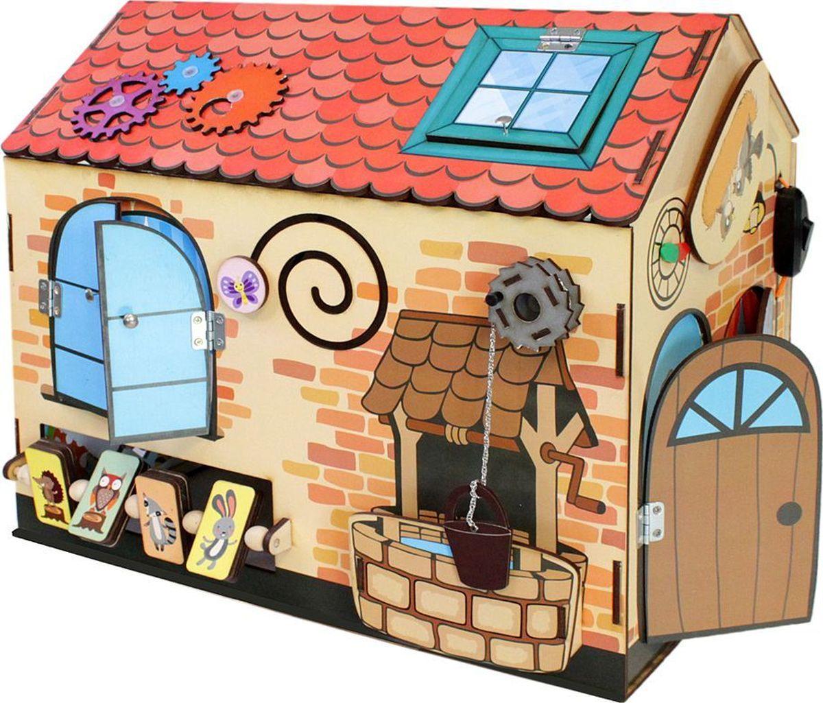 купить Фабрика Мастер игрушек Бизиборд Чудо-дом недорого