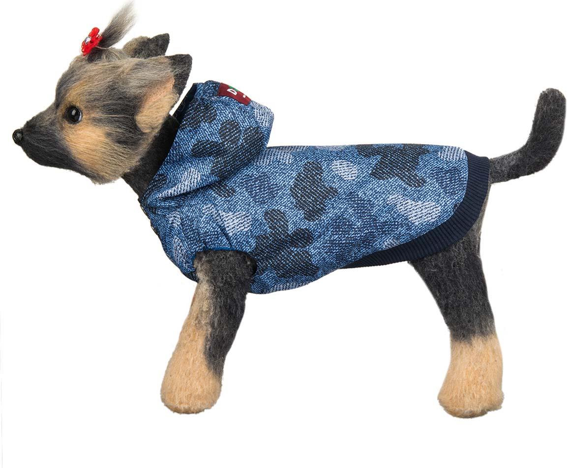 """Ветровка для собак Dogmoda """"Мегаполис"""", унисекс, цвет: синий. Размер XL"""