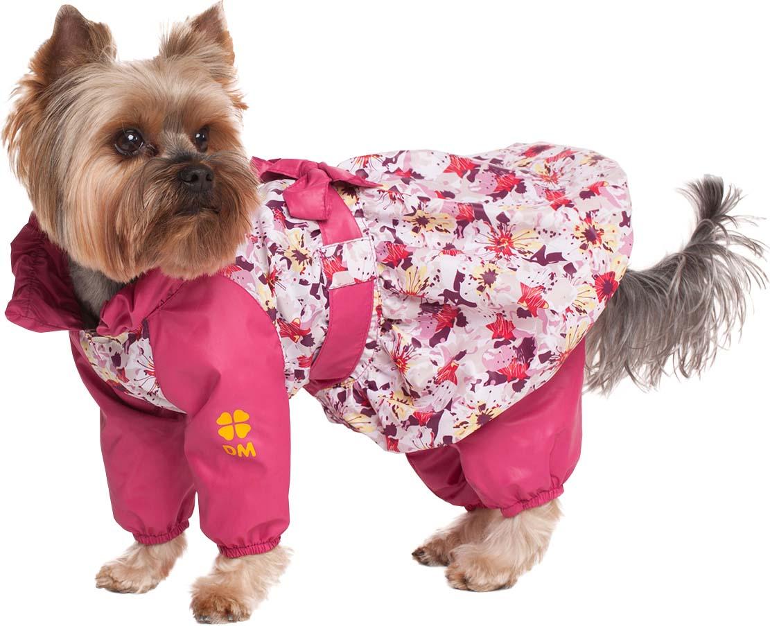 Комбинезон для собак Dogmoda Настроение  Цветы для девочки  Размер M
