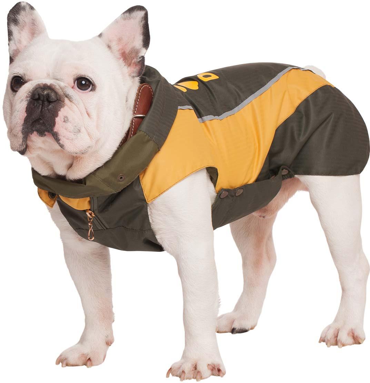 Фото - Попона для собак Dogmoda Doggs. Лайт, унисекс, цвет: желтый. Размер M trixie стойка с мисками trixie для собак 2х1 8 л