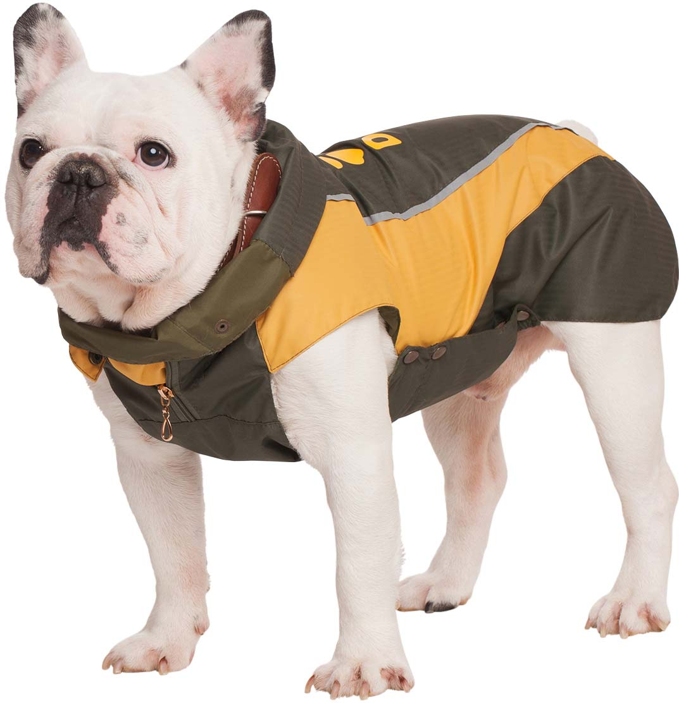 "Попона для собак Dogmoda ""Doggs. Лайт"", унисекс, цвет: желтый. Размер XL"