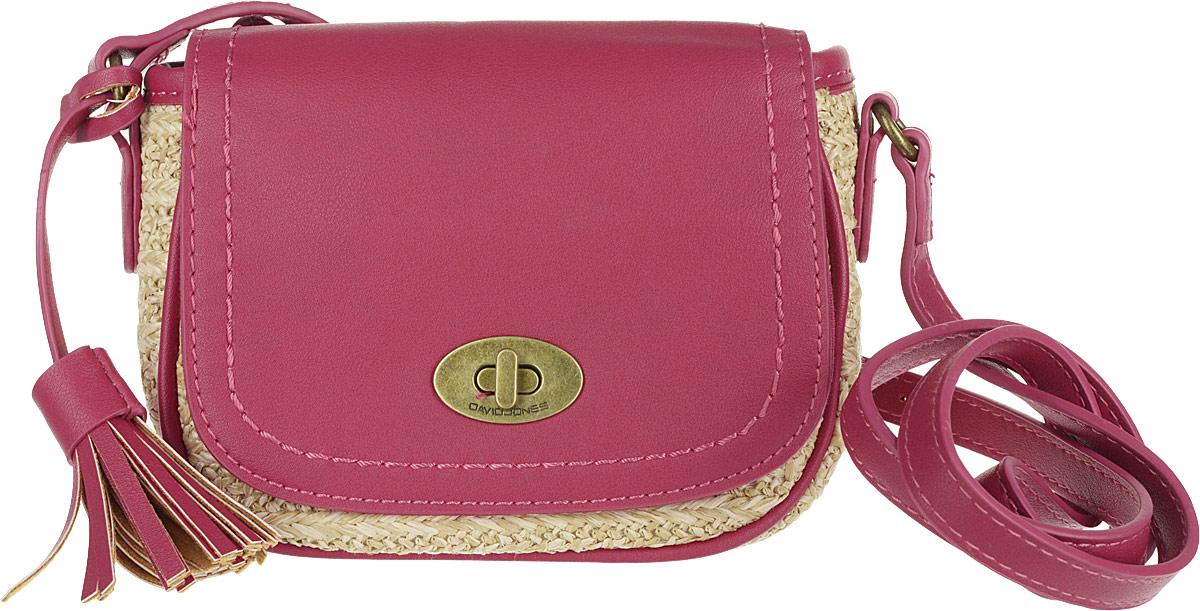 Сумка женская David Jones, цвет: красный. CM3813 RED сумка женская david jones цвет розовый cm3538a d pink