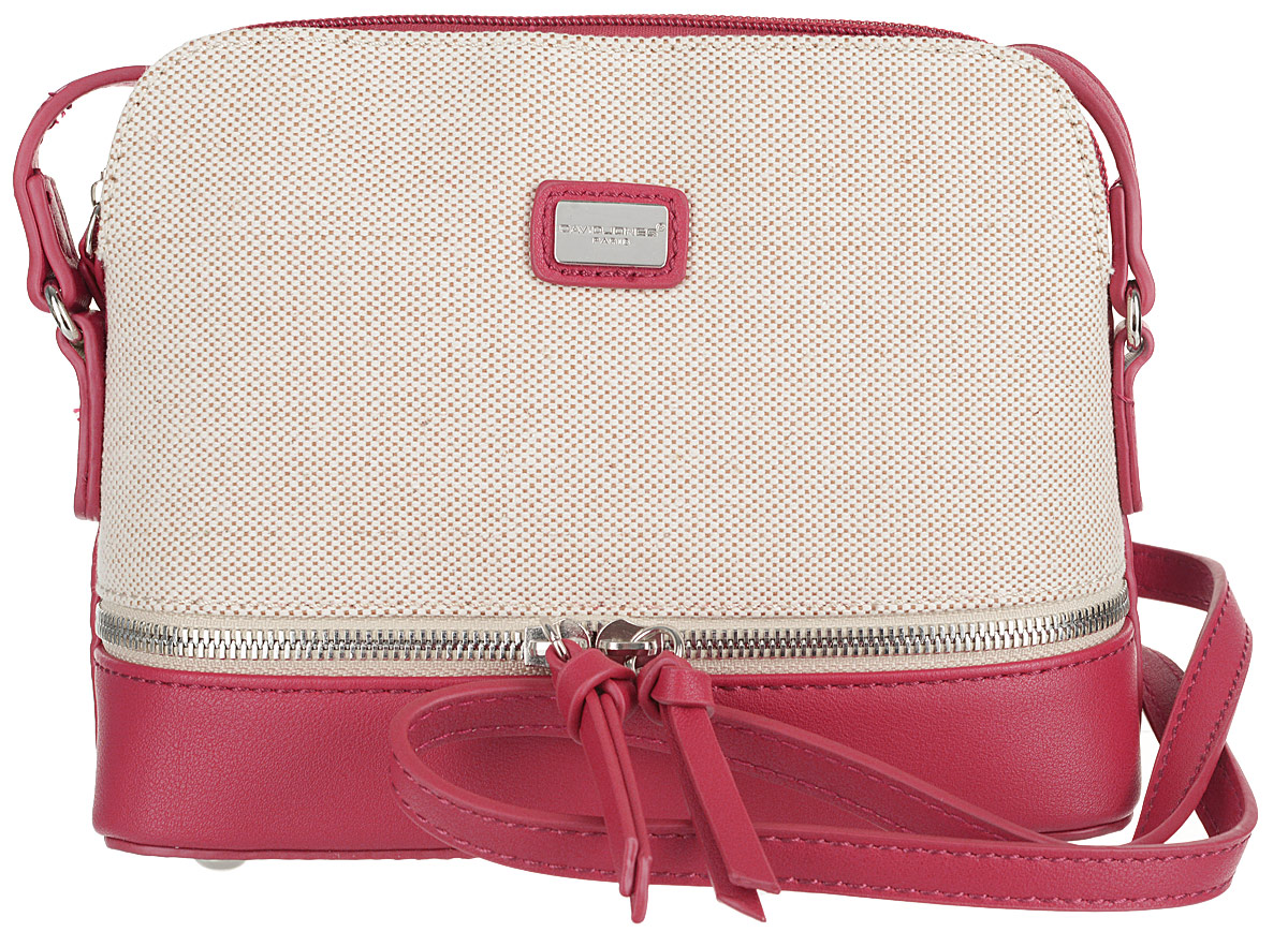 Сумка женская David Jones, цвет: красный. 5756-1 RED сумка david jones david jones da919bwcjgg4