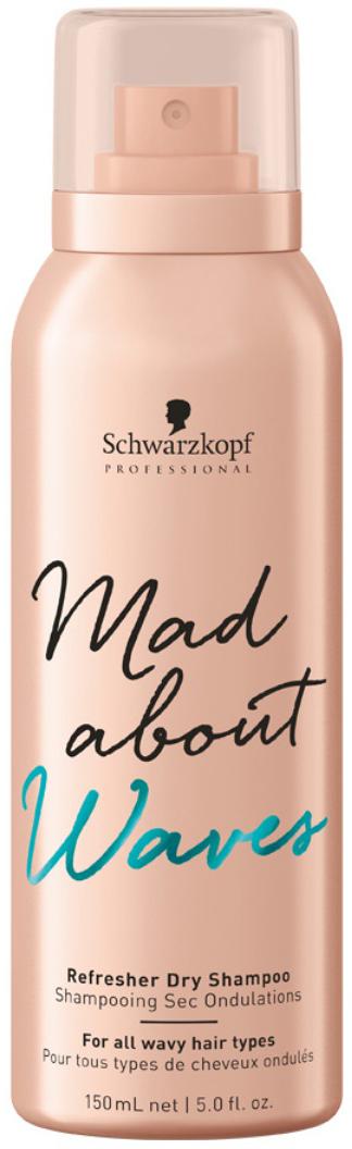 Schwarzkopf Professional Сухой шампунь для тонких, нормальных и жестких волос Mad About Waves, 250 мл недорого