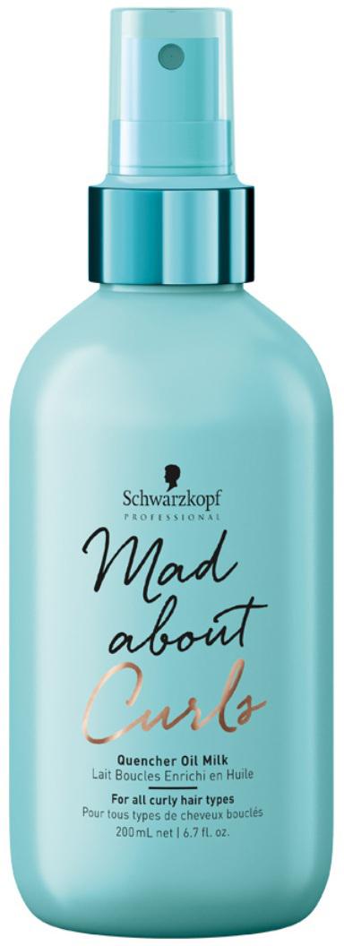 Schwarzkopf Professional Масляное молочко для тонких, нормальных и жестких волос Mad About Curls, 200 мл