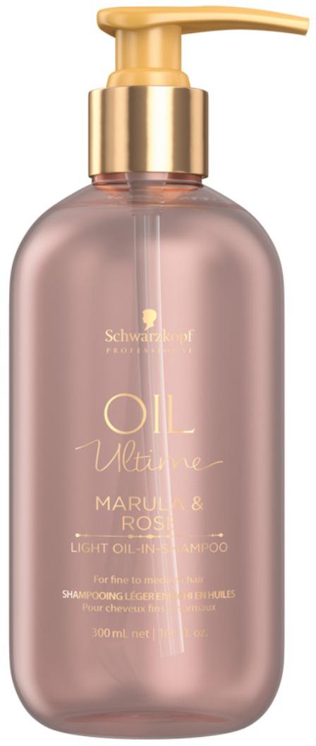 Schwarzkopf Professional Шампунь для тонких и нормальных волос Oil Ultime, 300 мл schwarzkopf professional бонакур блеск шампунь с розовым маслом для кожи головы и волос 200 мл