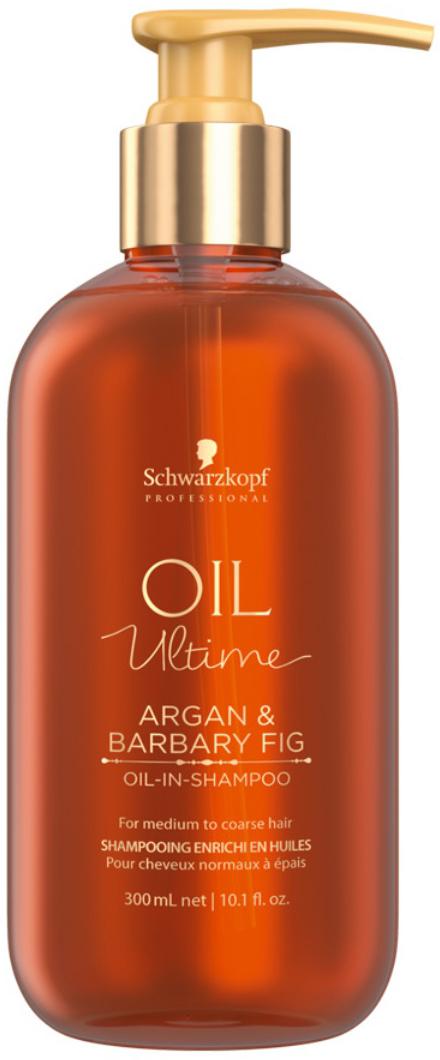 Schwarzkopf Professional Шампунь для жестких и средних волос Oil Ultime, 300 мл schwarzkopf professional бонакур блеск шампунь с розовым маслом для кожи головы и волос 200 мл