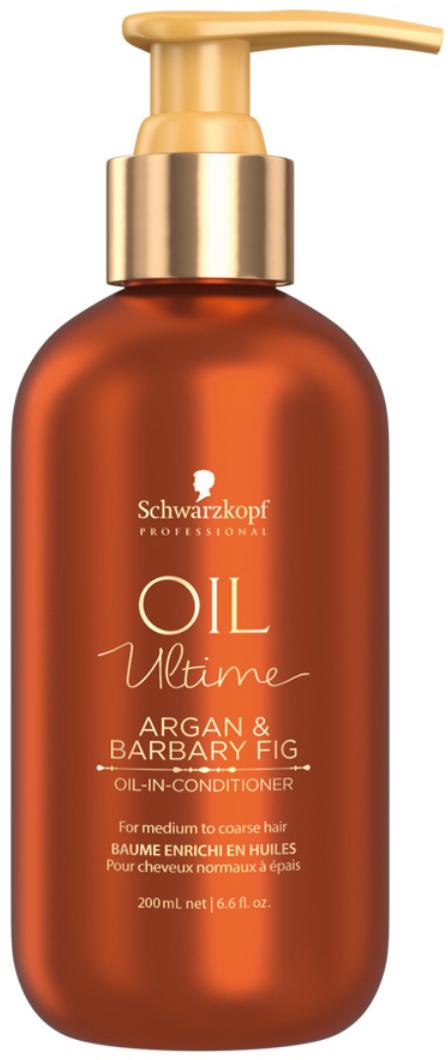 Schwarzkopf Professional Кондиционер для жестких и средних волос Oil Ultime, 200 мл schwarzkopf professional кондиционер с аргановым маслом bonacure oil miracle 150 мл