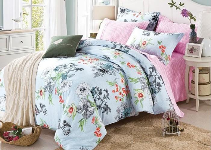 Комплект постельного белья Eleganta Elfrieda, семейный, наволочки 70 х 70 см