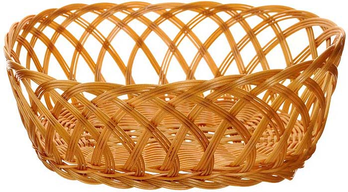 Корзинка плетеная Oriental Way Мульти, овальная, 32 х 24 см корзинка для хлеба neo way мульти 25 19 9 см