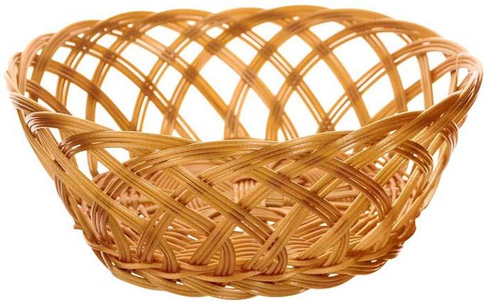 Корзинка плетеная Oriental Way Мульти, круглая. Диаметр 19,5 см корзинка для хлеба neo way мульти 25 19 9 см