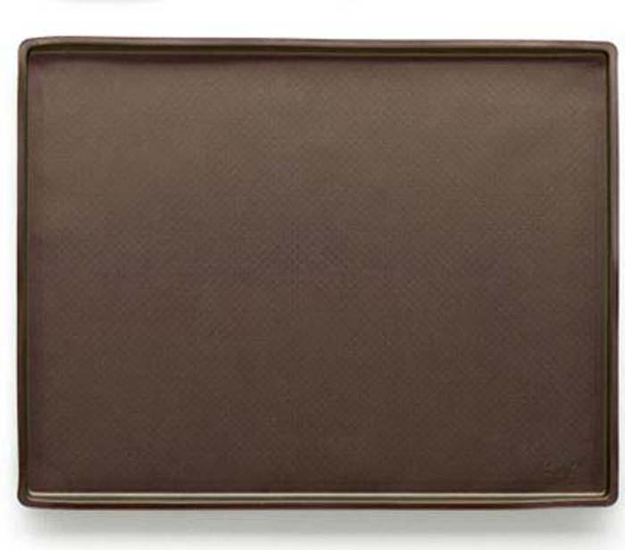 """Коврик кулинарный """"Lekue"""", цвет: коричневый, 39 см х 30 см"""