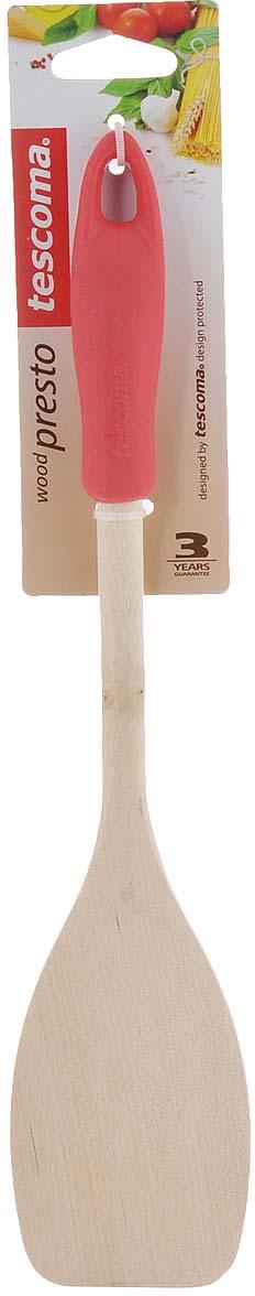 Лопатка Tescoma Presto Wood, цвет в ассортименте. 637216 лопатка кулинарная tescoma presto wood цвет красный длина 30 см