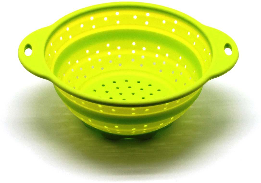 """Дуршлаг складной """"Atlantis"""" , цвет: зеленый, диаметр 19 см. SC-SB-014A-G"""